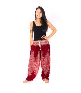 Pantalones de harén Mandala