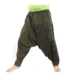 Pantalones de harén de Buda