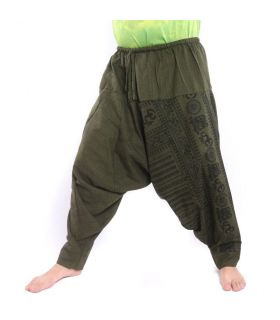 Pantalons de harem de Bouddha