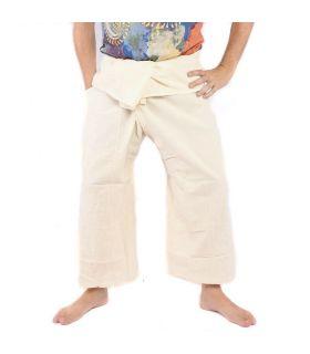 Thai fisherman pants - undyed
