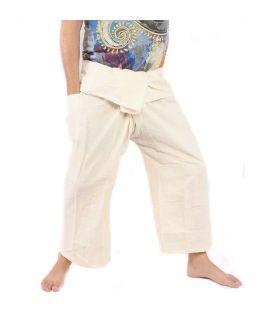 Pantalones de pescador tailandés - sin teñir