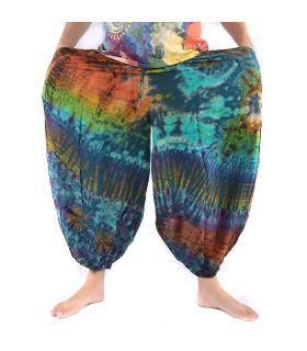 Harem pants Rayon - Batik