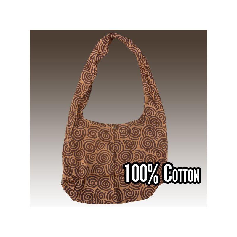 Bolso de hombro hecha de algodón
