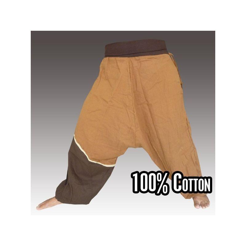 Pantalones Aladdin - marrón
