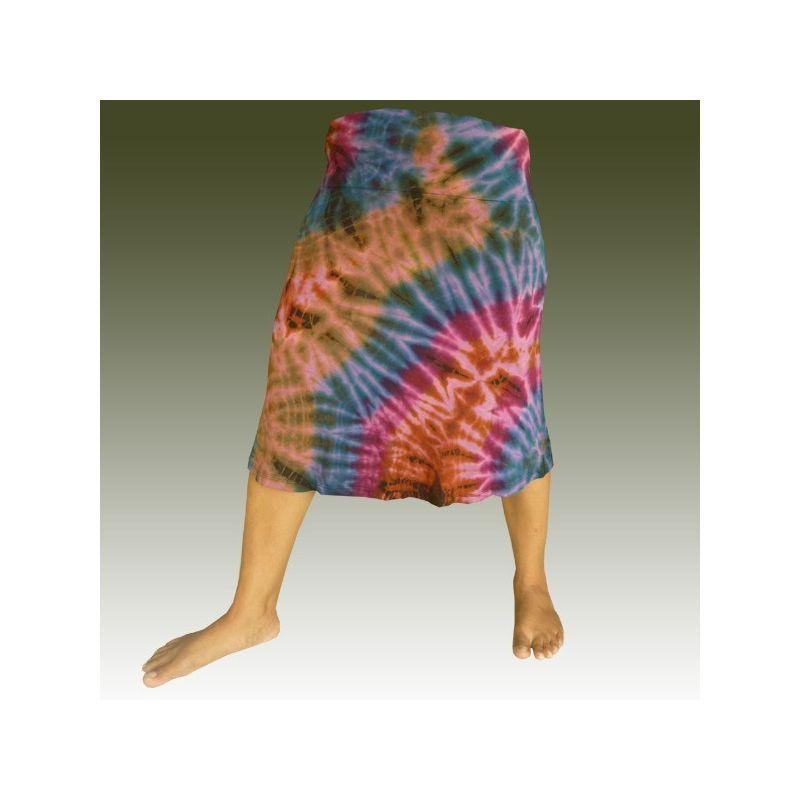 Falda de rayón batik - spandex
