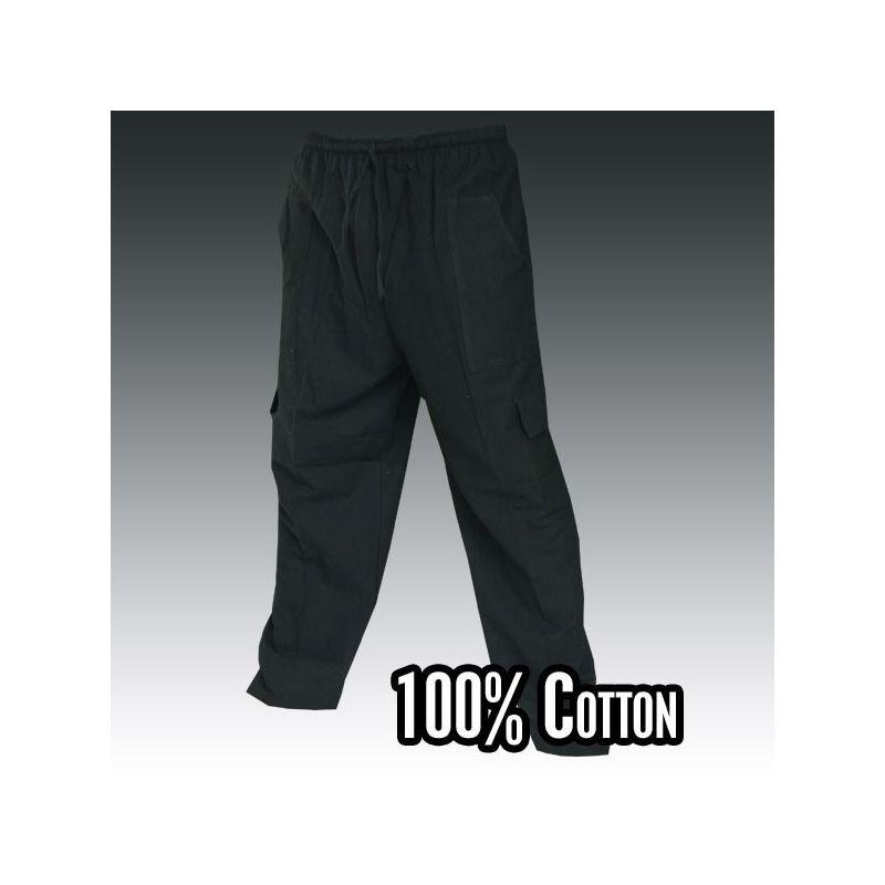 Gang Ghaeng Thiao Freitzeithose Cotton - black