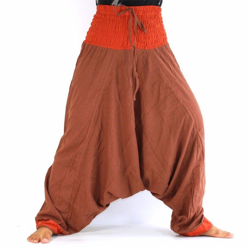 Pantalones bombachos - Brown