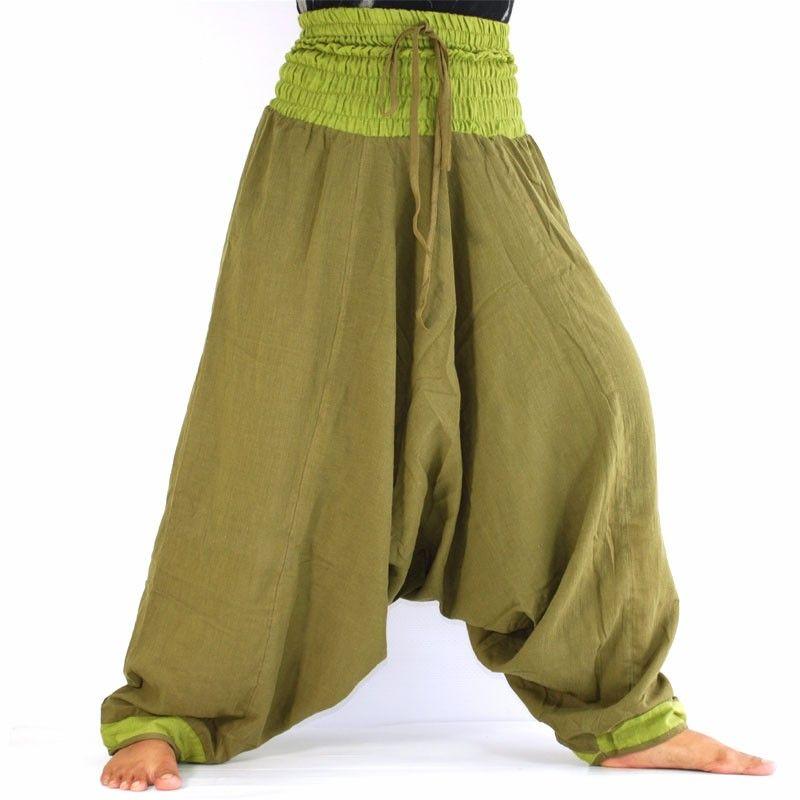 Aladinhose - helles oliv grün