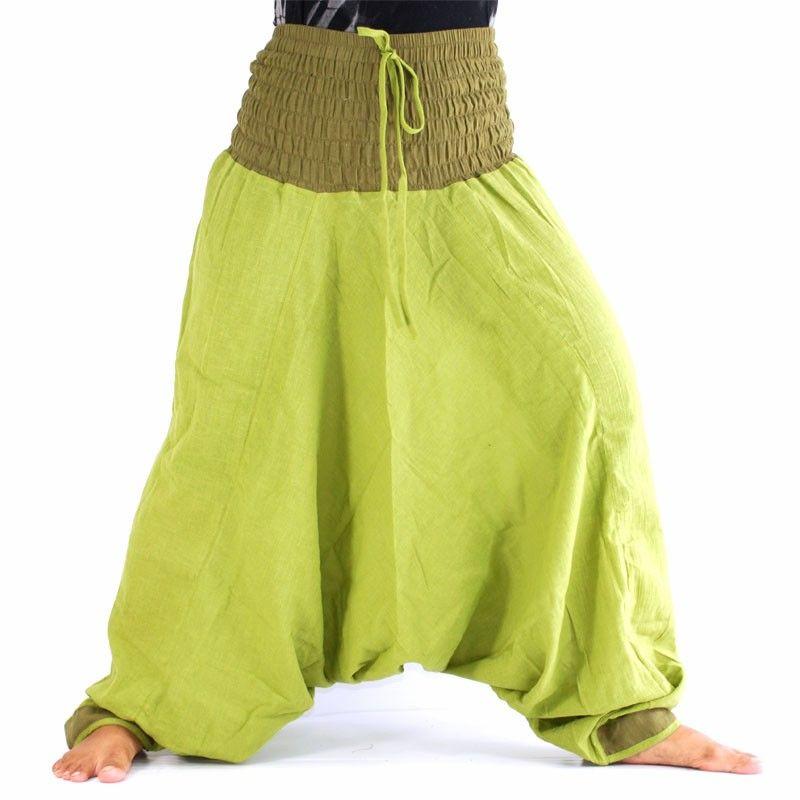 Aladdin pants - green