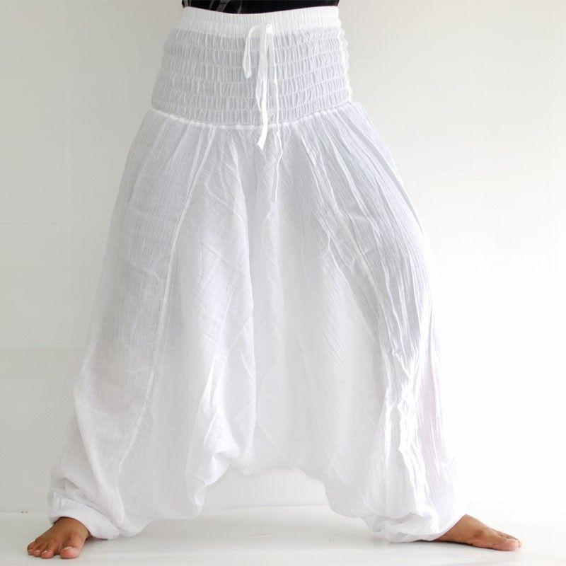 Baggy Pants - white