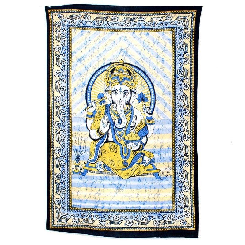 Indisches Wandtuch aus Baumwolle