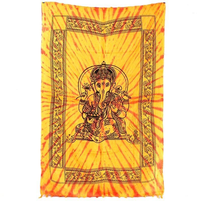 Wandtuch Ganesha