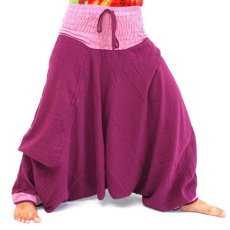 Pantalones Aladdin - púrpura