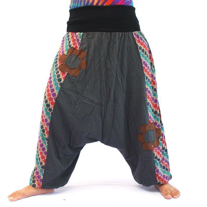 Baggy trousers made of soft cotton