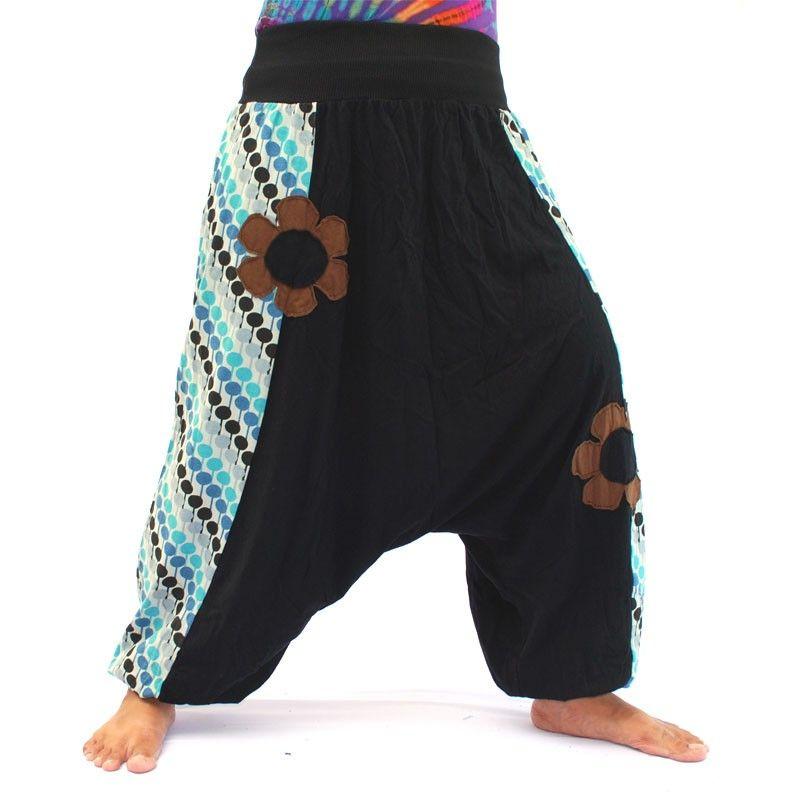 Pantalones bombachos de suave algodón
