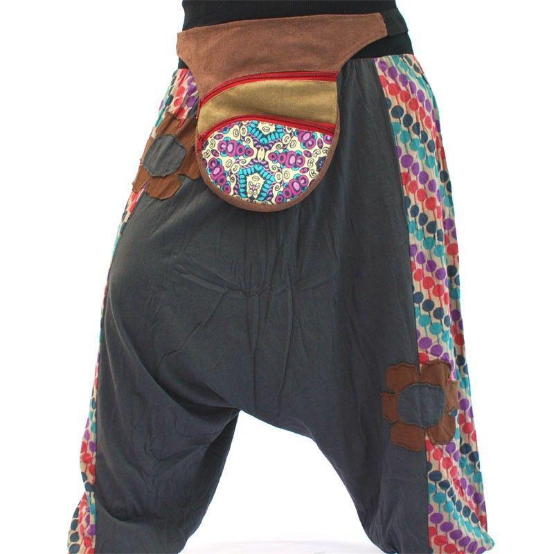 Belt bag in retro design