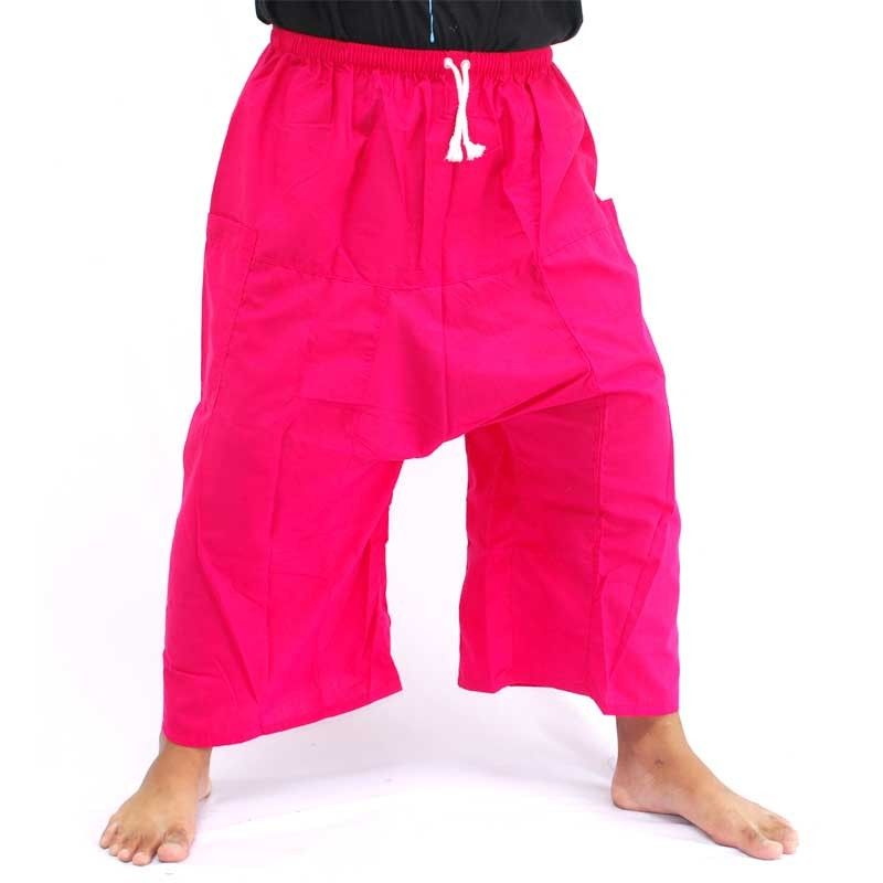 Thai Fisherman Boxer Shorts - magenta