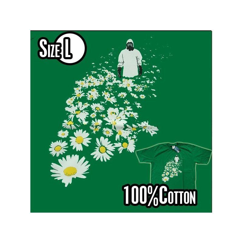 T-Shirt - Strahlende Zukunft- Vector Art- Size L