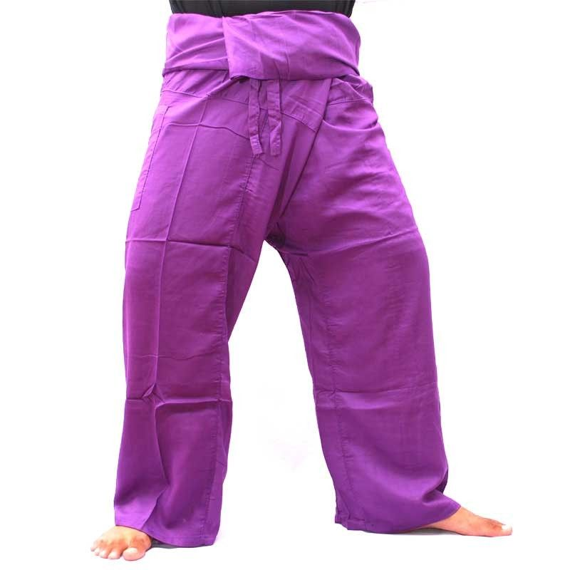 Thai Fisherman pants - lila Rayon