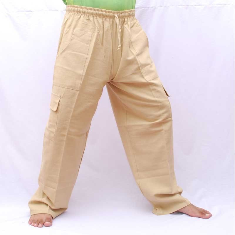 Gang Ghaeng Thiao leisure cotton - color natural cotton