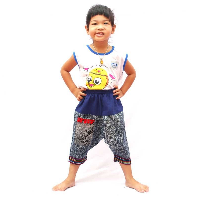 pantalones harén para niños