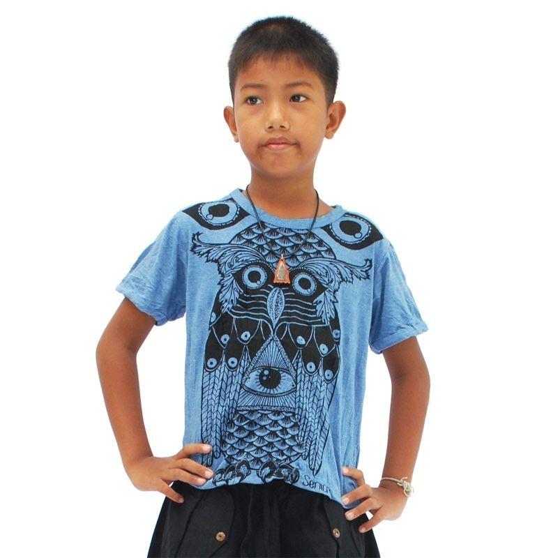 Concepto claro puro - tamaño de niños camiseta L