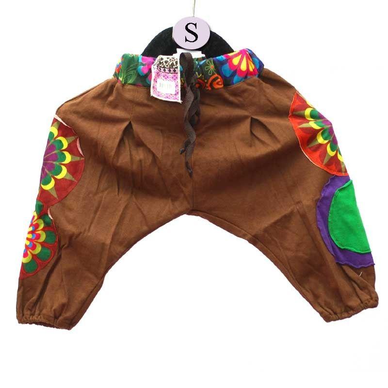 Pantalones de harén para el tamaño de los niños S