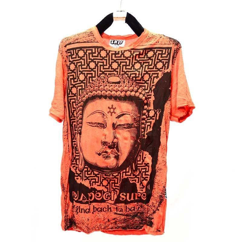 Talla de camiseta de Budhha seguro M