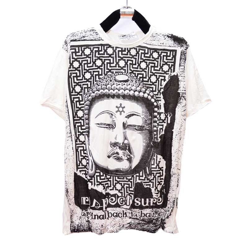 Seguro Budhha camiseta talla M
