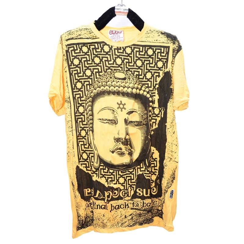 Sure Pure Concept - T-Shirt Crying Budha - Size L