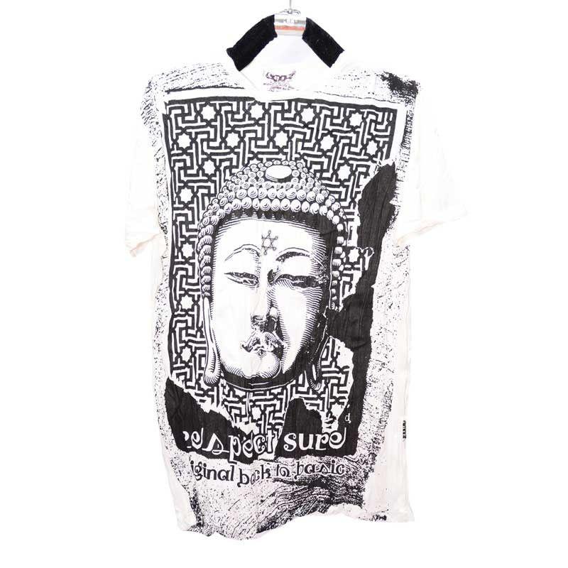 Seguro Pure Concept - camiseta llanto Budha - Talla L