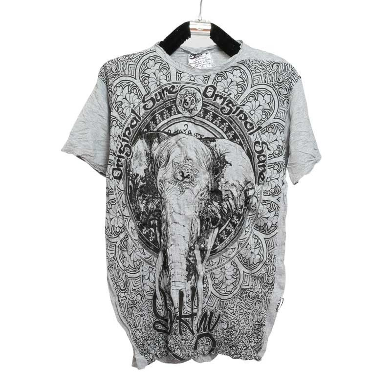 "Seguro concepto puro - camiseta ""Ganesha"" - Talla L"