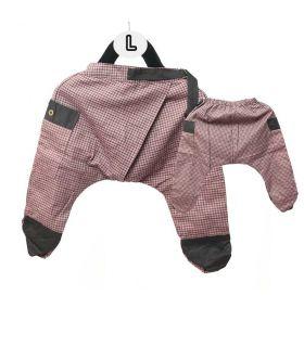 Sarouel pour les enfants - Coton / motif tartan