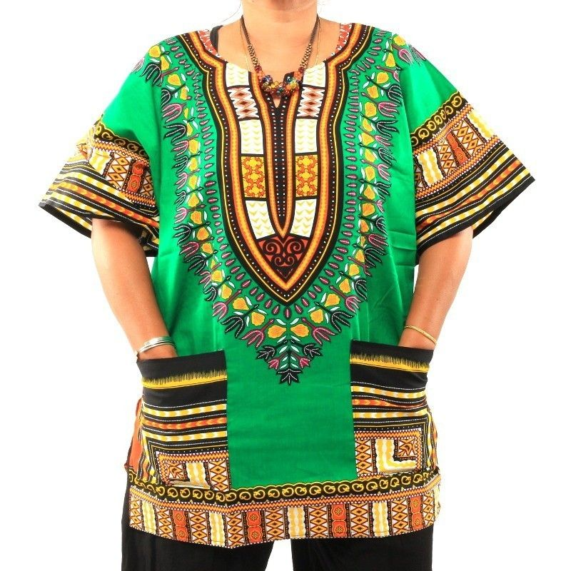 tamaño de la camisa dashiki M