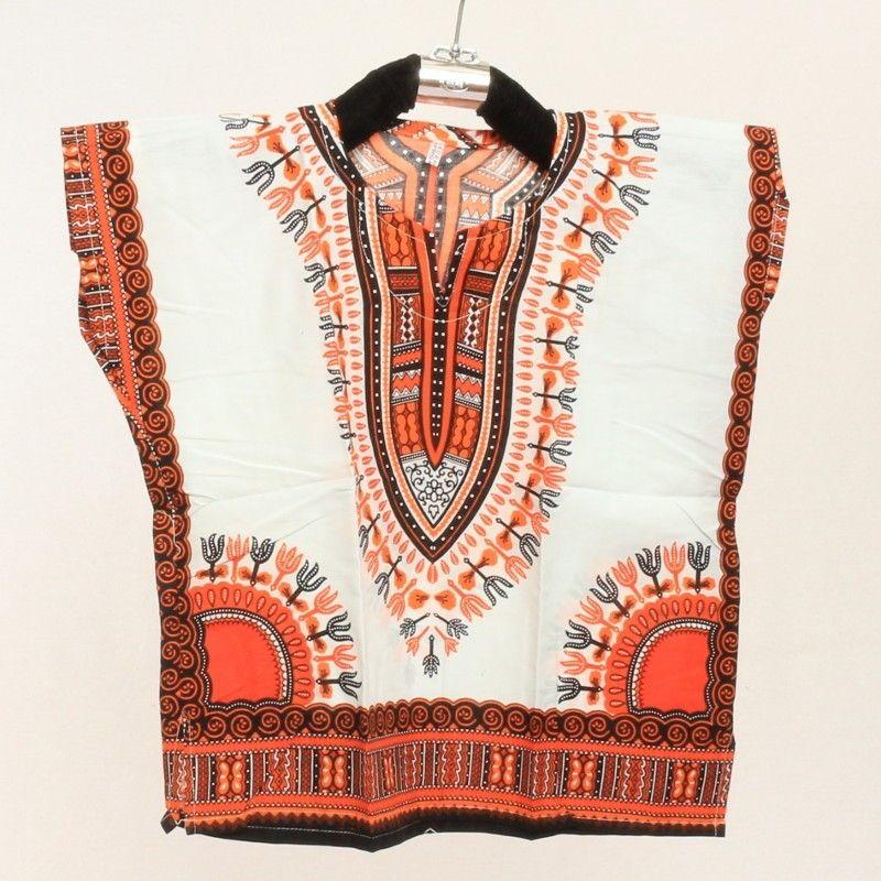 Camisa Dashiki para niños