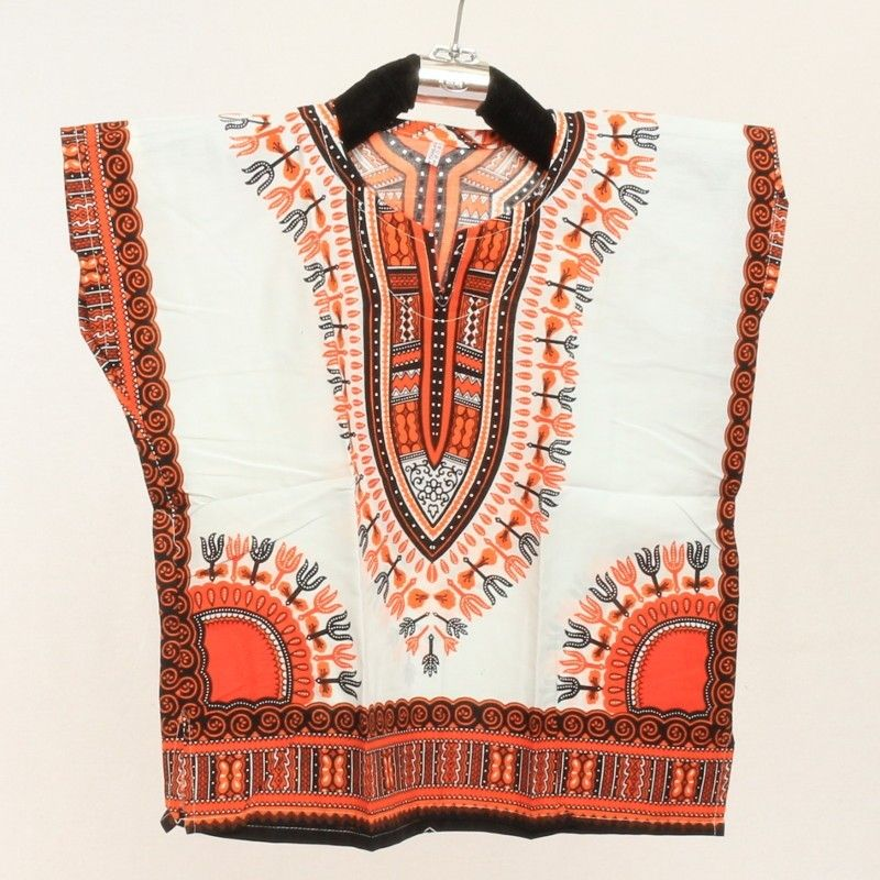 Camiseta dashiki para niños