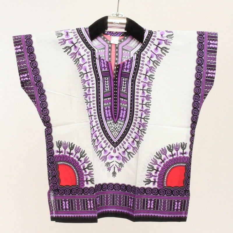 Dashiki shirt for children