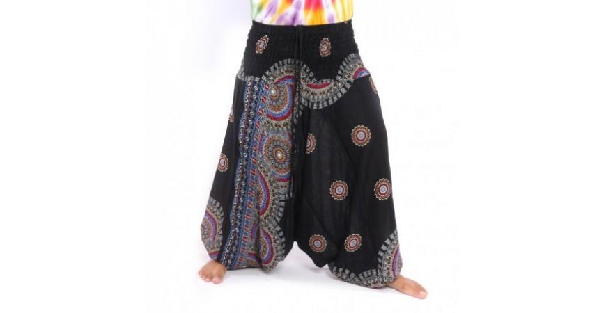 Pantalon harem, soins, conseils et tendances